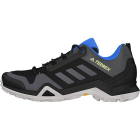 adidas TERREX AX3 Hiking Shoes Lightweight Men, core black/dgh solid grey/signal green